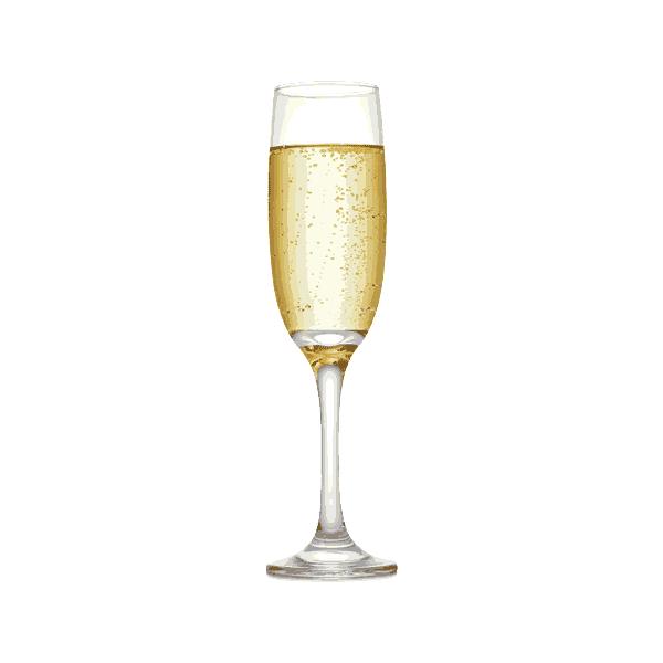 vino bianco bollicine